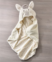 LiL' Lama Hooded Bath towel Baby