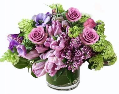 Sweet Spring Lilac Cut Flower Arrangement