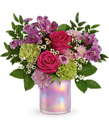 Lilac Iridescent Arrangement