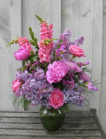 Lilac Love  Seasonal Arrangement