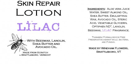 LILAC Made from Scratch Natural Hand Lotion Our own luxurious shea butter, beeswax and lanolin hand lotion !