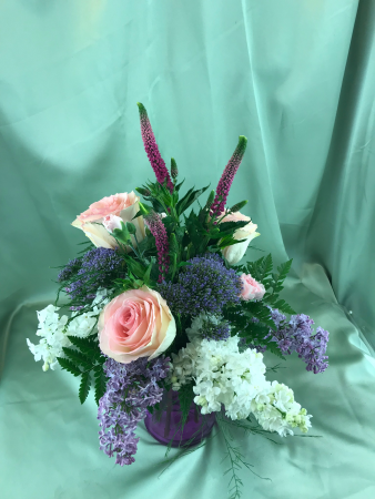 Lilacs and Roses... Oh So Sweet!