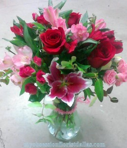 Lilies and roses,  MO-1 Fresh floral in Dallas, TX | MY OBSESSION FLOWERS