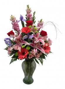 Lilies of Love Vase Arrangement