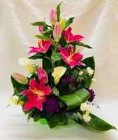Lilies on Parade Arrangement