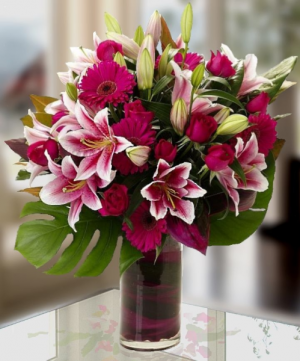 Lilies, Roses, Gerberas  in Oakville, ON | ANN'S FLOWER BOUTIQUE-Wedding & Event Florist