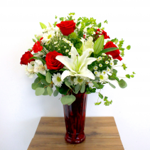 LILIES, ROSES & MORE BOUQUET