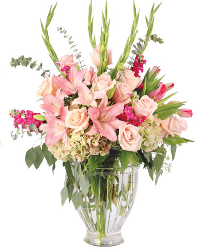 Lilies with Grace Flower Arrangement