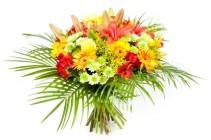 Lilies/Gerbera/Daisies Bouquet