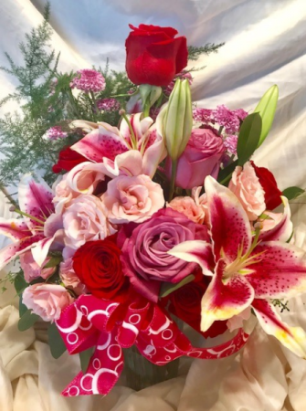 lilley/rose lillies and roses