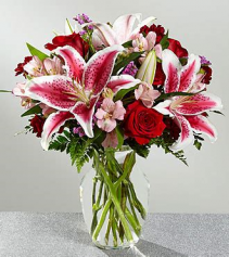 Lilly & Roses Arrangement