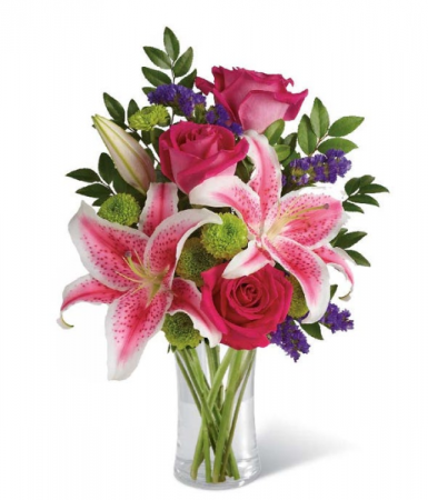 Lily and Rose bouquet