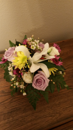 Lily & Rose Bridesmaid Bouquet