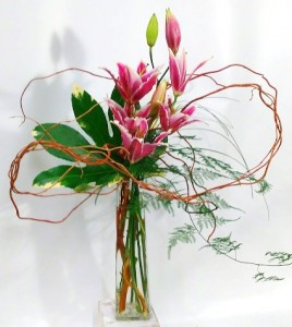 Lily Art Bud Vase