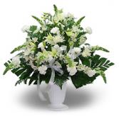 Lily & Carnation Urn