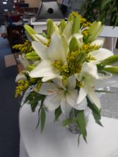 Lily Elegance Bridal bouquet