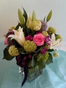 lily lovely (back) vase