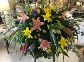 Lily Medley casket piece