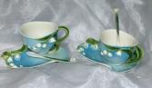 Lily of the Valley Tea Cup Garden Tea Set