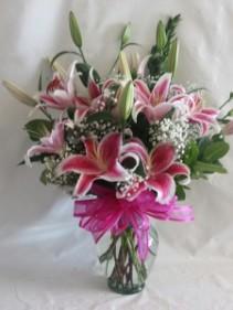 Lily Paradise Flower Arrangement