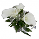 Lily Pearl Wrist Corsage