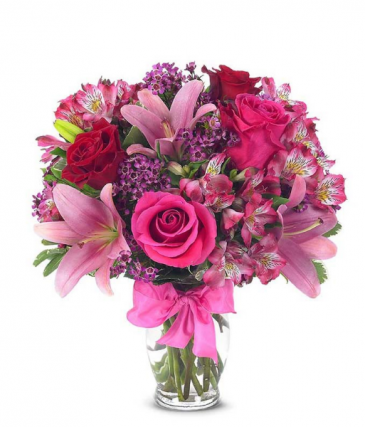 Lily & Rose Bouquet Fresh