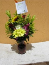 Lily Rose Vase