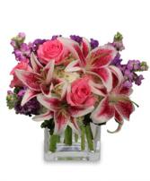 Lily Surprise Flower Arrangement