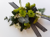Lime Green Corsage