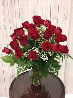 Limited Time 24 Red Roses arrangement Roses