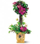 Lina Liu Silk Topiary Silk Bouquet