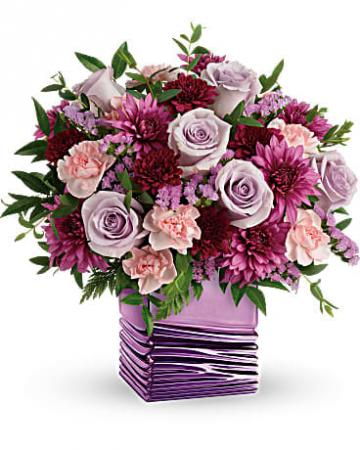 Liquid Lavender Bouquet All Around Arrangement
