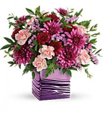 Liquid Lavender vase