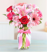 Little Bit o' Romance Tonight! Roses, Lilies and Gerbera daisies or Matthiola...Sigh!