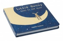 Little Bunny Goes to the Moon Book Newborn Gift