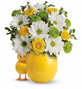 Little Chick Floral Bouquet in Whitesboro, NY | KOWALSKI FLOWERS INC.