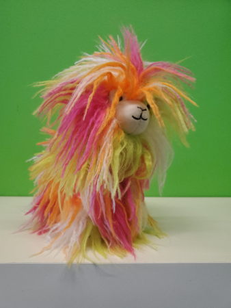 Little fiesta llama Stuffed animal