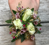 Sparkly Little Girl's Corsage