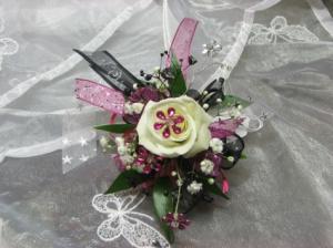 Little Girls Wrist Corsage Wedding Flowers in Herndon, PA | BITTERSWEET DESIGNS BY LORRIE