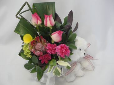 LITTLE LADY BABY Baby Flowers, Baby Hospital Flowers Delivery, New Baby Flowers