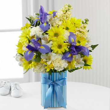 Little Miracle Bouquet - Baby Boy