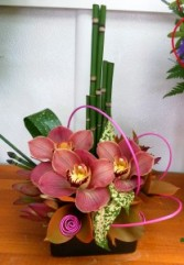 Little Orchid Dish Arrangement