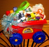 little wagon baby basket