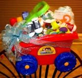 little wagon baby basket