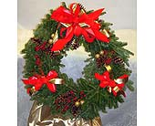 Live Christmas Wreath Wreath