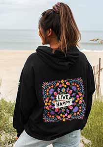Live Happy Hoodie