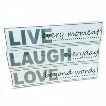 Live Love Laugh Decor