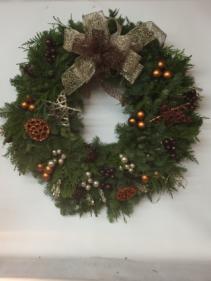 Live round wreaths.