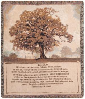 Living Life Tapestry Throw Living Life Tapestry Throw