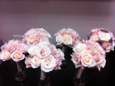 LMF4L-PACKAGE BLUSHES/IVORY WEDDING BOUQUET PACKAGE
